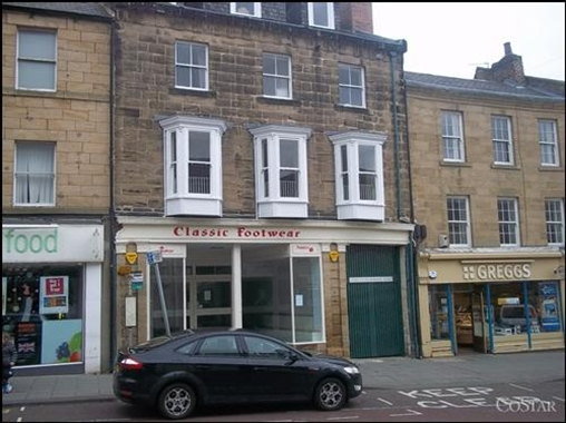 Alnwick, 46 Bondgate Within - 734 SF High Street