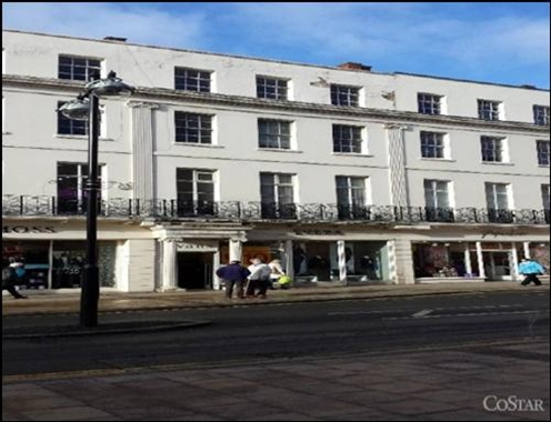 Leamington Spa, 38 Parade - 1,748 SF High Street
