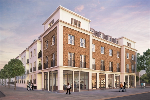 CHISWICK, ST PETER'S PLACE -A1/A2 Use, - 1,800 SF High Street