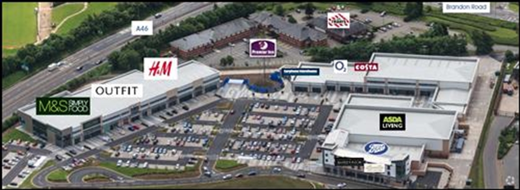 Coventry, Unit 14, Warwickshire Shopping Centre - 4,263 SF High Street