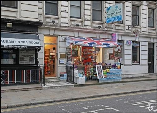 London, 37 Great Russell Street - 295 SF High Street