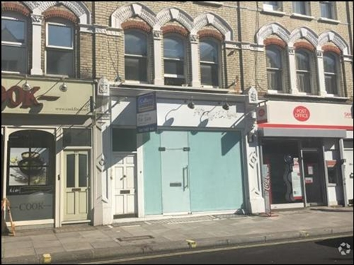 London, 849 Fulham Road - 775 SF High Street