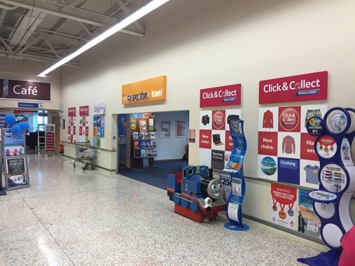 Stockton On Tees, Tesco Extra - 750 SF Shopping Centre
