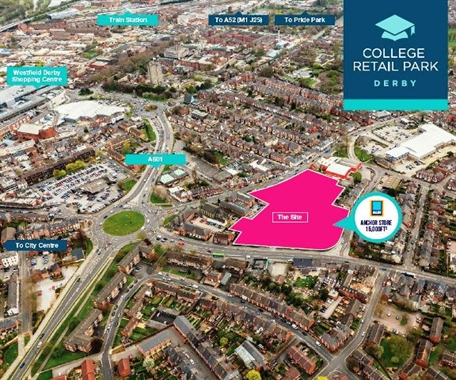 Derby, Derby Retail Park -  Out of Town