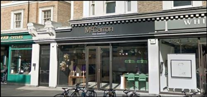 London, 102 Westbourne Grove - 954 SF High Street