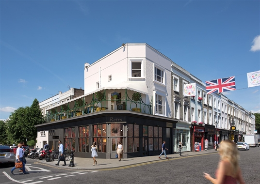 London, Unit 1, 253 Portobello Road - 1,024 SF High Street