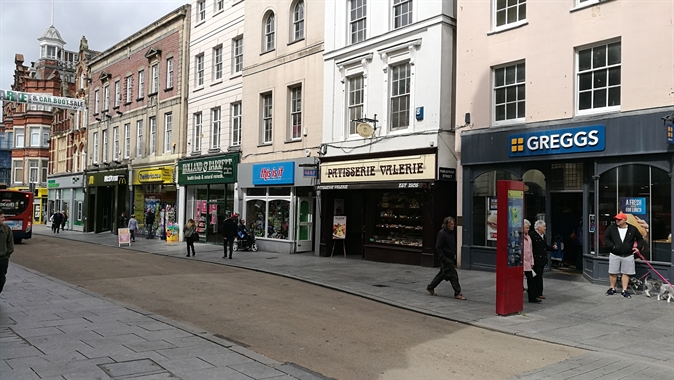 Exeter, High Street - 1,585 SF High Street