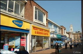 1,361 SF High Street Shop for Rent  |  17 Market Street, Barnsley, S70 1SL