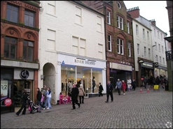 1,776 SF High Street Shop for Rent  |  113 - 115 High Street, Dumfries, DG1 2QT