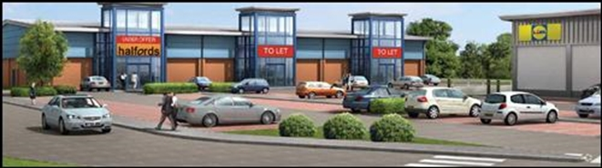 10,000 SF Retail Park Unit for Rent  |  Unit 3, Fakenham, NR21 8BW
