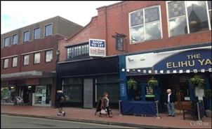 752 SF High Street Shop for Rent  |  48 Regent Street, Wrexham, LL11 1RR