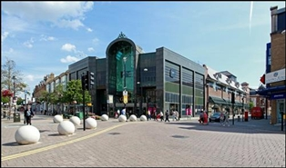 1,104 SF Shopping Centre Unit for Rent  |  Unit 203, Intu Bromley, Bromley, BR1 1DN