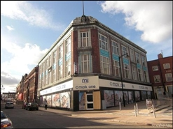 4,100 SF High Street Shop for Rent  |  2 - 8 Queen Street, Stoke On Trent, ST6 3EF