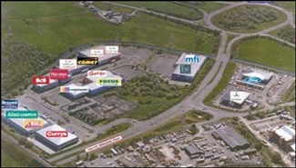 10,000 SF Retail Park Unit for Rent  |  Unit 6b, Peel Centre, Blackburn, BB1 3HT