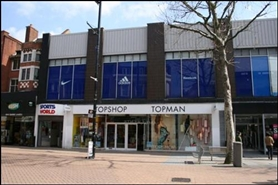 1,299 SF Shopping Centre Unit for Rent  |  Unit 123, Whitgift Centre, Croydon, CR0 1US