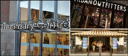 2,059 SF Shopping Centre Unit for Rent  |  Unit 5, The Friary Shopping Centre, Guildford, GU1 4YT