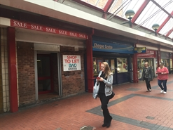 1,550 SF Shopping Centre Unit for Rent  |  1st Floor, 26 Market Hall Street, Cannock, WS11 1EB