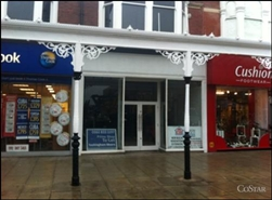 1,110 SF High Street Shop for Rent  |  231 Lord Street, Southport, PR8 1PE