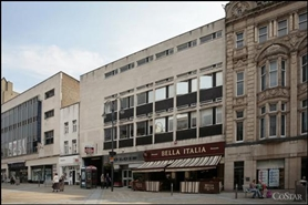 843 SF High Street Shop for Rent  |  Central Arcade, Leeds, LS1 6BR