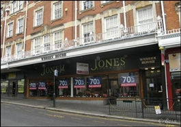 2,000 SF High Street Shop for Rent  |  Wessex House, Bournemouth, BH1 2AL