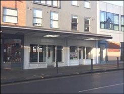 593 SF High Street Shop for Rent  |  Norfolk House, Guildford, GU1 3AW