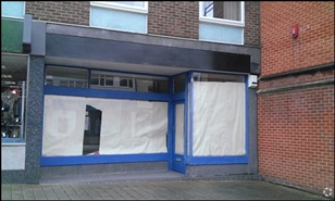 228 SF High Street Shop for Rent  |  39 Regent Circus, Swindon, SN1 1PN