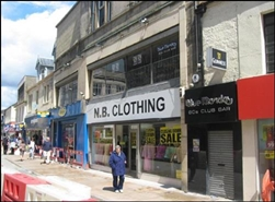 3,095 SF High Street Shop for Rent  |  70 High Street, Kirkcaldy, KY1 1LN