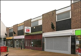 627 SF High Street Shop for Rent  |  47 West Gate, Mansfield, NG18 1RU