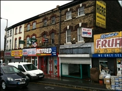379 SF High Street Shop for Rent  |  15 St Oswalds Street, Liverpool, L13 5SA