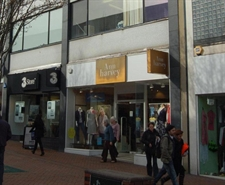 911 SF High Street Shop for Rent  |  35 Commercial Road, Bournemouth, BH2 5RH
