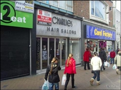 606 SF High Street Shop for Rent  |  3 Market Street, Barnsley, S70 1SL