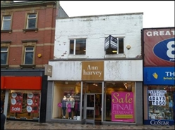 1,167 SF High Street Shop for Rent  |  48 - 50 Church Street, Blackpool, FY1 1HP