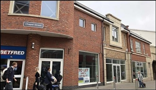 959 SF Shopping Centre Unit for Rent  |  Unit 6, The Swan Centre, Rugby, CV21 3EB