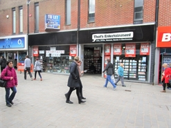 2,980 SF High Street Shop for Rent  |  24 - 26 East Street, Derby, DE1 2AF