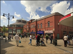 1,067 SF Shopping Centre Unit for Rent  |  Units 24, Oldham, OL1 1HE