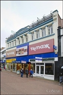 1,073 SF High Street Shop for Rent  |  68 Old Christchurch Road, Bournemouth, BH1 2AD