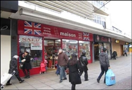 1,697 SF High Street Shop for Rent  |  197 Commercial Road, Portsmouth, PO1 1EA