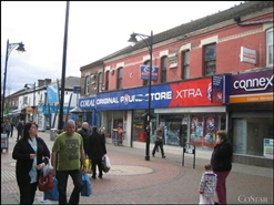 2,842 SF High Street Shop for Rent  |  37 - 41 Albert Road, Widnes, WA8 6JA