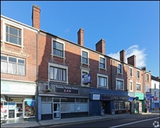 1,513 SF High Street Shop for Rent  |  52 Church Street, Stoke On Trent, ST4 1BL