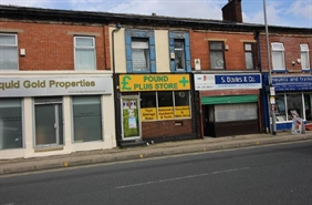 457 SF High Street Shop for Rent  |  150 Bury New Road, Manchester, M45 6AD