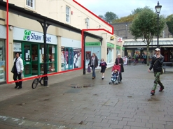 1,300 SF Shopping Centre Unit for Rent  |  Unit 15 Westway Shopping Centre, Frome, BA11 1AL