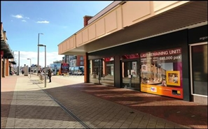 1,619 SF Shopping Centre Unit for Rent  |  Square Shopping Centre, Nottingham, NG9 2JG