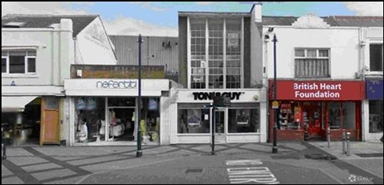 1,772 SF High Street Shop for Rent  |  233 Oxford Street, Swansea, SA1 3BL