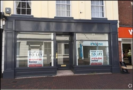 740 SF High Street Shop for Rent  |  19 Lower Brook Street, Rugeley, WS15 2BZ