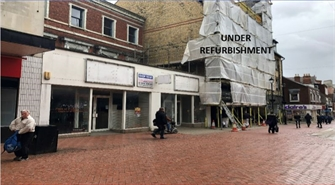 2,751 SF High Street Shop for Rent  |  4 - 6 Regent Street, Wrexham, LL11 1SA