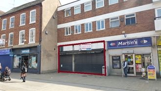 823 SF High Street Shop for Rent  |  98 - 100 High Street, Bromsgrove, B61 8EX
