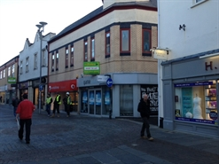 1,220 SF High Street Shop for Rent  |  12 / 14 Adare Street, Bridgend, CF31 1EJ