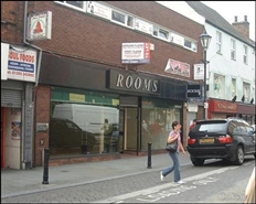 5,000 SF High Street Shop for Rent  |  24 - 26 Scot Lane, Doncaster, DN1 1ES