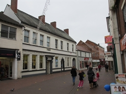 4,234 SF High Street Shop for Rent  |  16 18 Lower Brook Street, Rugeley, WS15 2DF