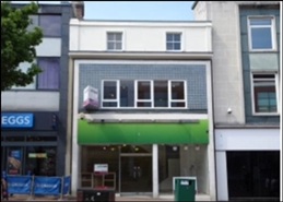 1,074 SF High Street Shop for Rent  |  33 Commercial Road, Bournemouth, BH2 5RH